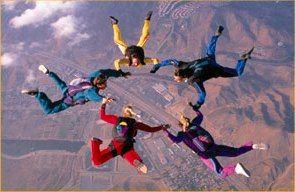 Psych Central News Take Risks Behavior Skydiving