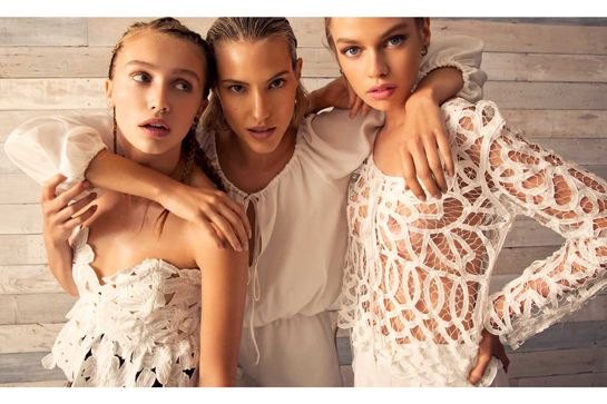 Bridal Lace Goes Badass In This Stunning New Collection #refinery29  http://www.refinery29.com/stone-cold-fox#slide14