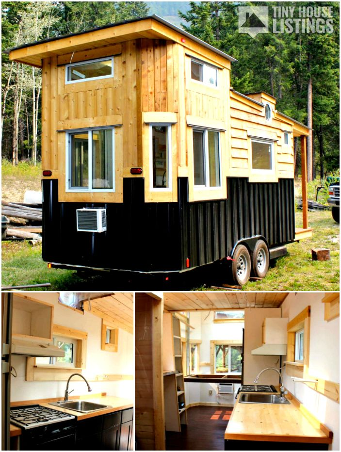 The Canadian tiny house for sale! This 25 foot custom ...