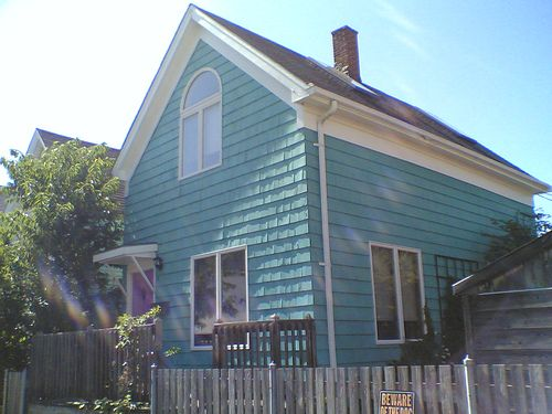 Blue Teal House House Colors Teal House Exterior House Colors