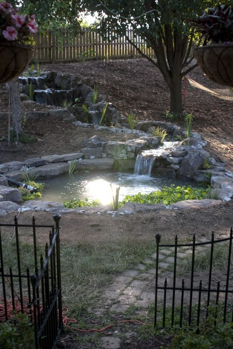 Extreme Duck Pond Makeover Woodhouse Farms   Water ...