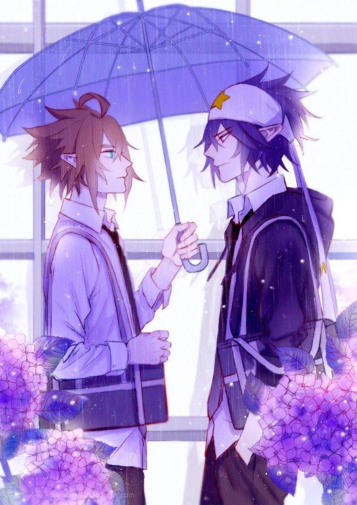 Pin by Tea Cat 猫茶 on Aotu World 凹凸世界 Anime boy, Chibi