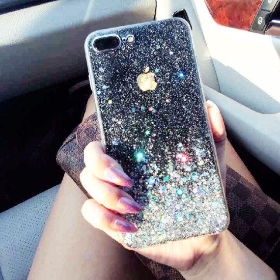 3e49e0edce Moon Dust iPhone 7 case iPhone 7 plus case iPhone by HandmadebyTN ...