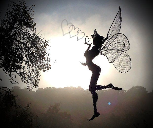 Fantasy Wire Fairies Sculptures http://www.fantasywire.co.uk