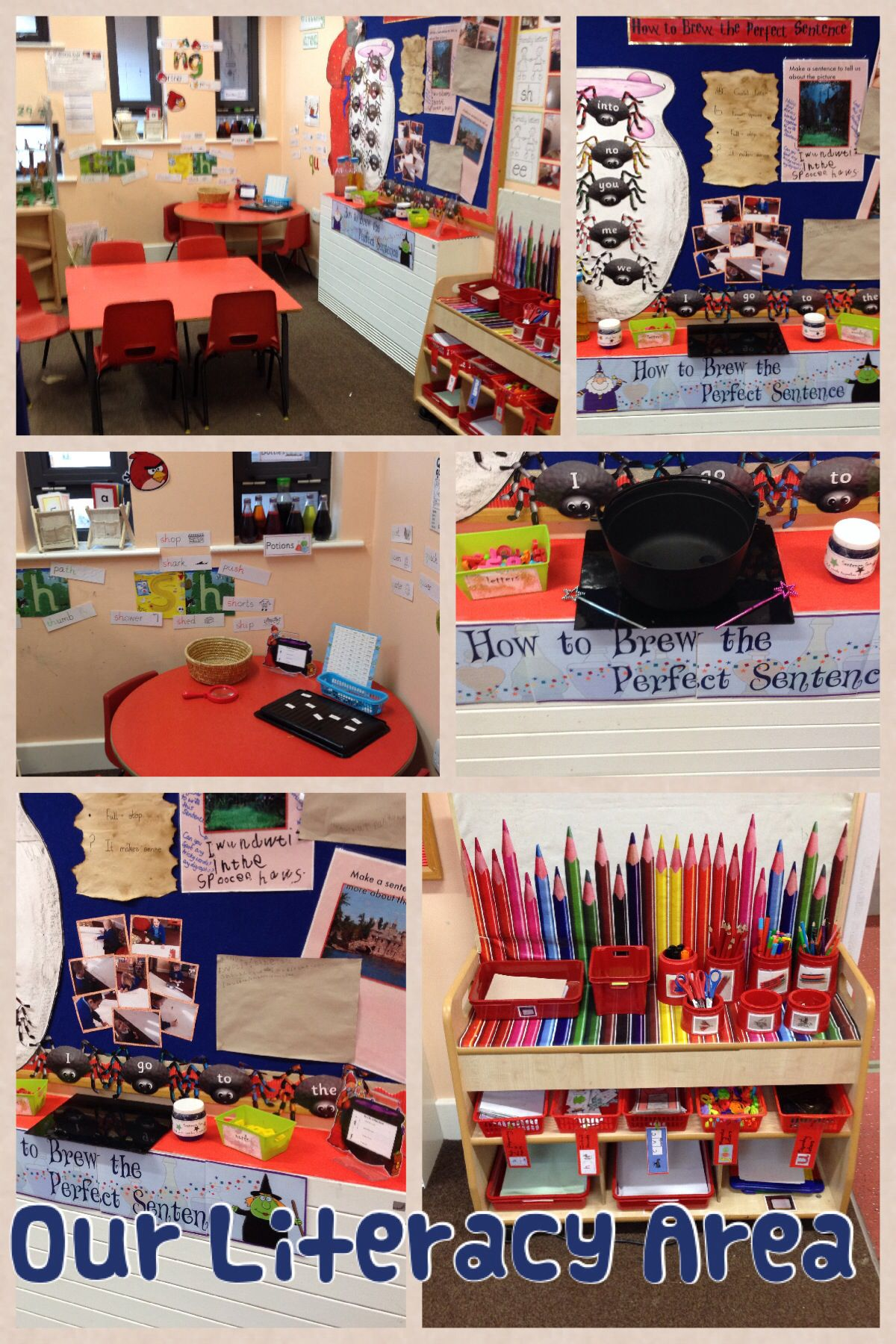 Our literacy area early years literacy pinterest literacy writing area and eyfs - Writing corner ideas ...