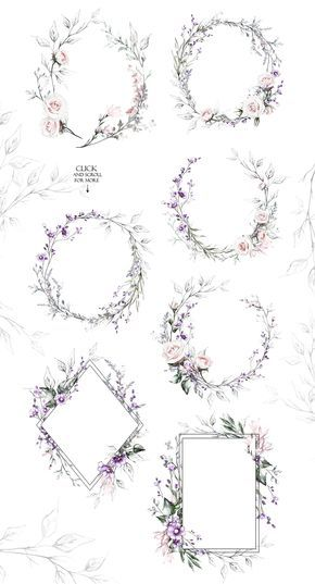 Spring Melody. Floral Design bundle by Lisima on @creativemarket This airy cute set include many individual elements and ready arrangements. Smile and create! The floral designs have been painted in a variety of gorgeous neutral and soft shades in warm and cool tones. Just scrolling through all the previews to see all illustration included in this huge collection. Just enjoy and have fun! [ad]