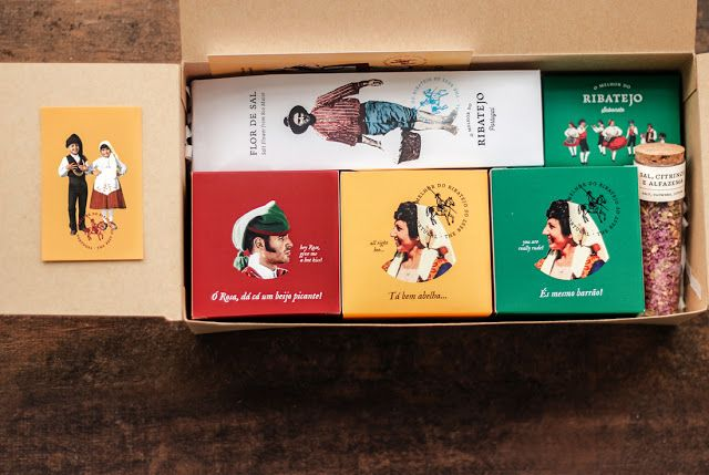 O melhor do Ribatejo on Packaging of the World - Creative Package Design Gallery