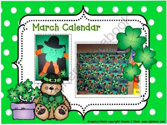 Creative Monthly Calendar Ideas : Bulletin board calendar creative monthly student art