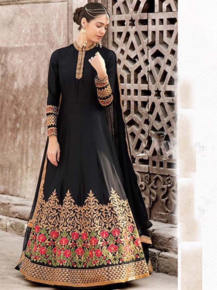 8d398f18ca #Designer #Women #Eid Special #Party wear#Indian #Pakistani #Latest #Anarkali  Suit #Handmade #Salwarkameez