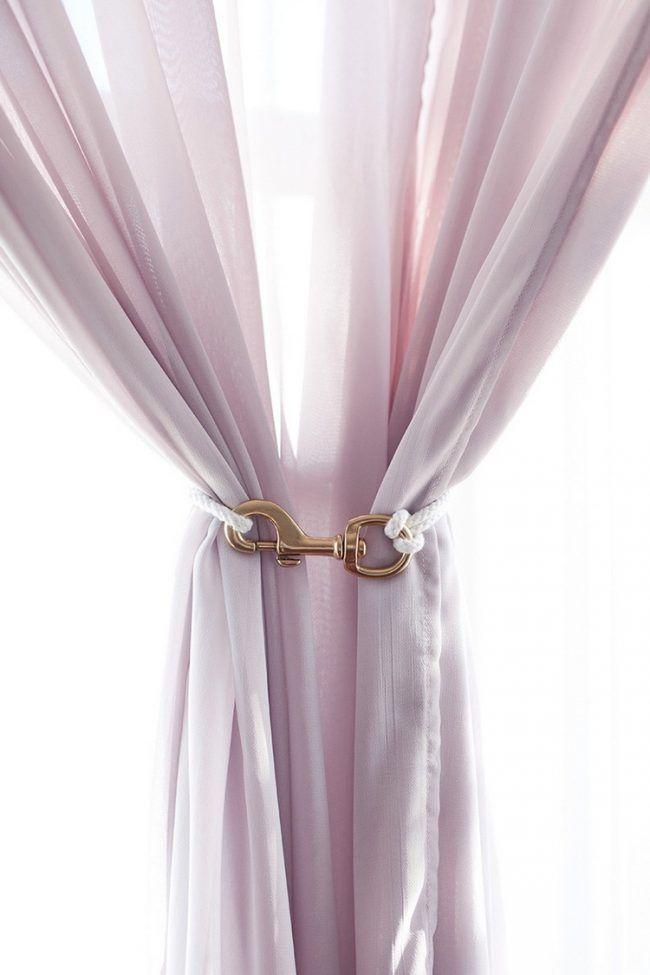 Raffhalter Selber Machen gardinen raffhalter selber machen messing schnur wohnung