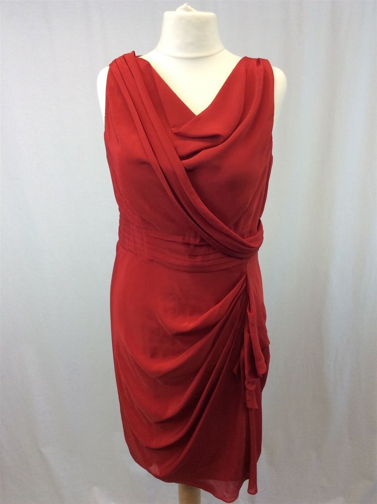 ee7f4864f6b BNWT Phase Eight - Size 14 - Ladies Red Verity Dress Partywear Occasion Wear   fashion  clothing  shoes  accessories  womensclothing  dresses (ebay link)