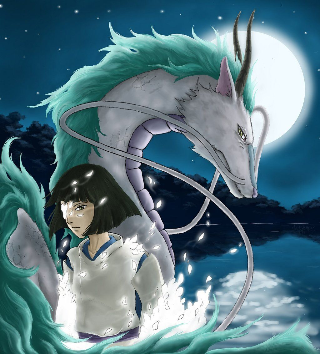 Kohaku The River Spirit By Mang0l0v3r Deviantart Com On Deviantart Kohaku Studio Ghibli Anime