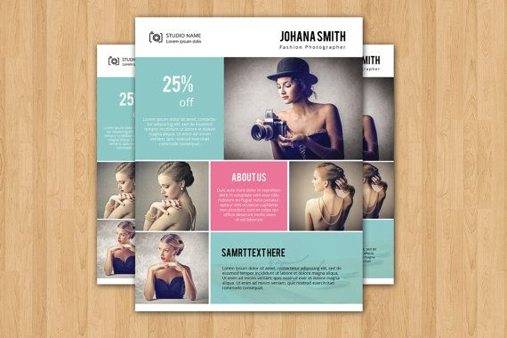 Photography Flyer Template Elegant Promotional By Templatestock