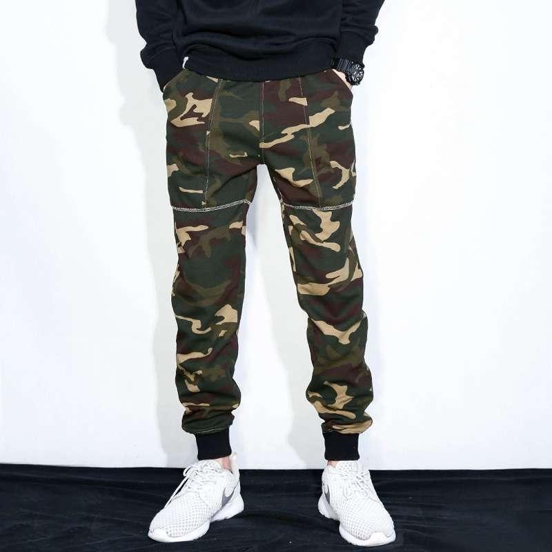 3f54a47efe4  1720 2018 Cotton Mens joggers Hip hop pants Streetwear Pantalon homme  Sweatpants Camouflage pants fashion Tactical track pants