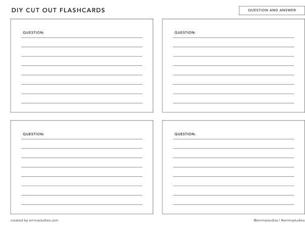 Flashcards Google Drive In 2020 Flashcards Printable Flash Cards Study Printables