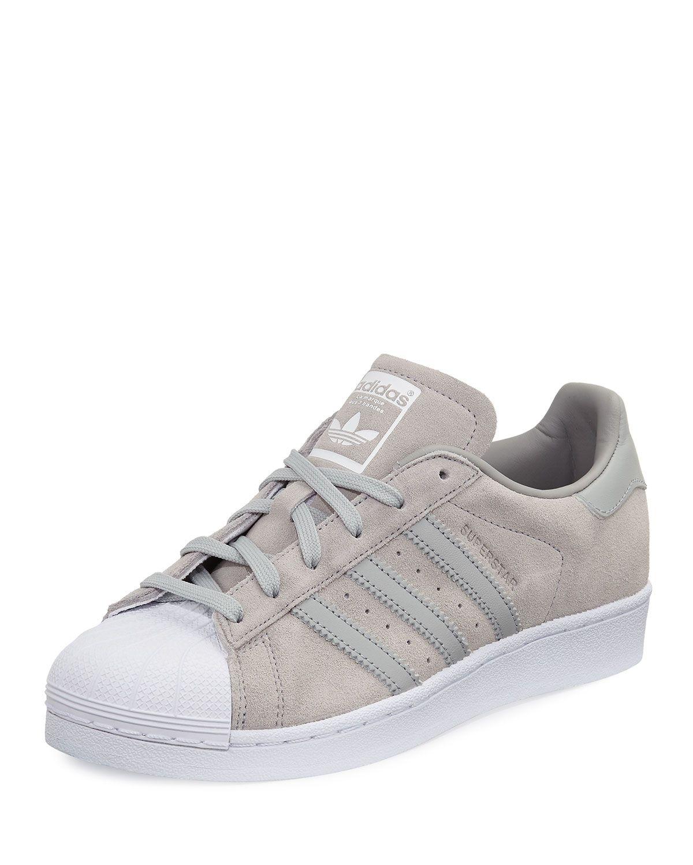 san francisco cb46d f02d6 Superstar Original Suede Sneaker, Clear Onyx