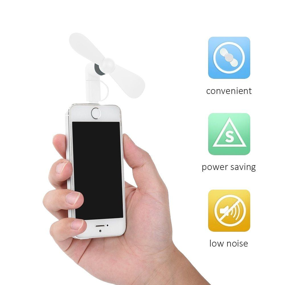 Portable Cell Phone Mini Micro USB Fan For Android Phone Samsung  LG HTC Tablet