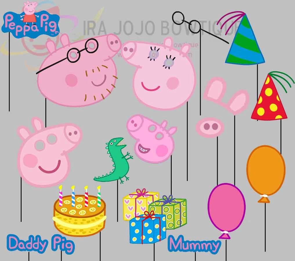 how to draw peppa pig family