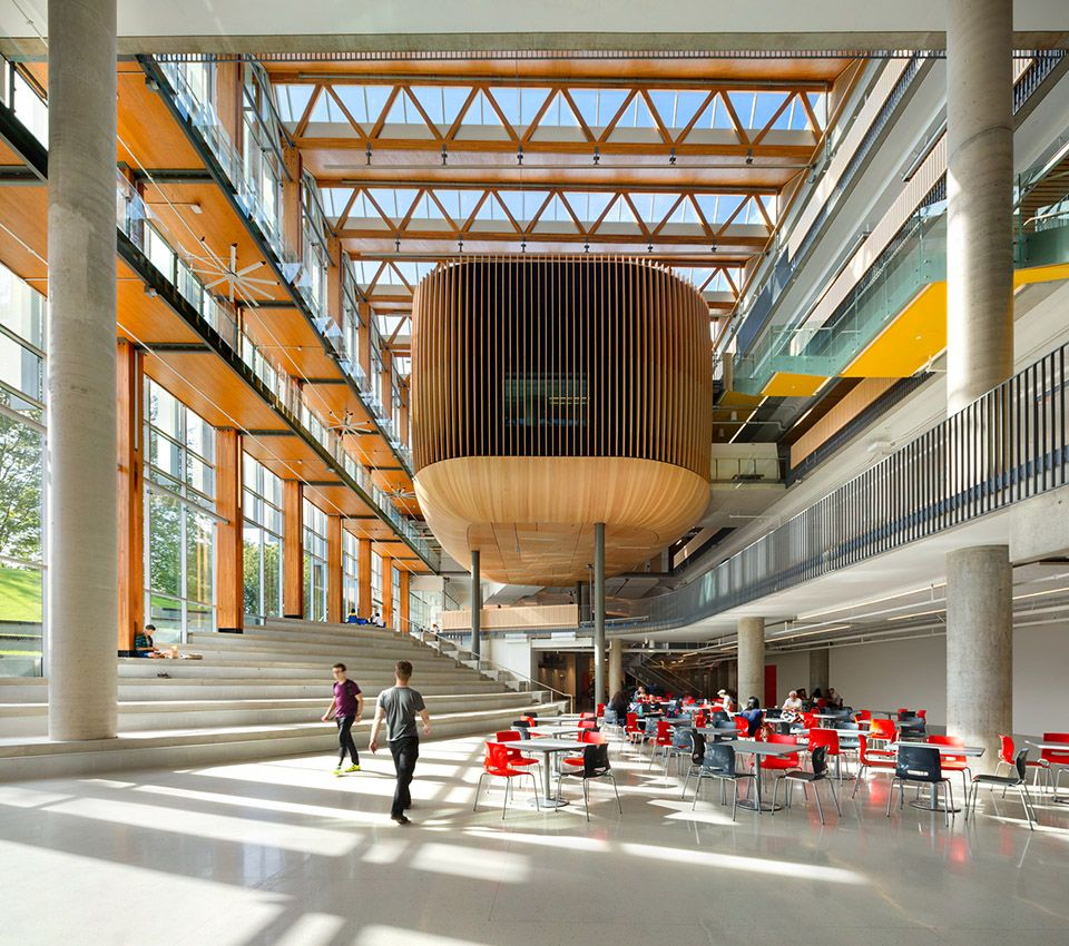 加拿大顶尖大学不列颠哥伦比亚大学学生会大楼 http//www.gooood.hk/amsnestby