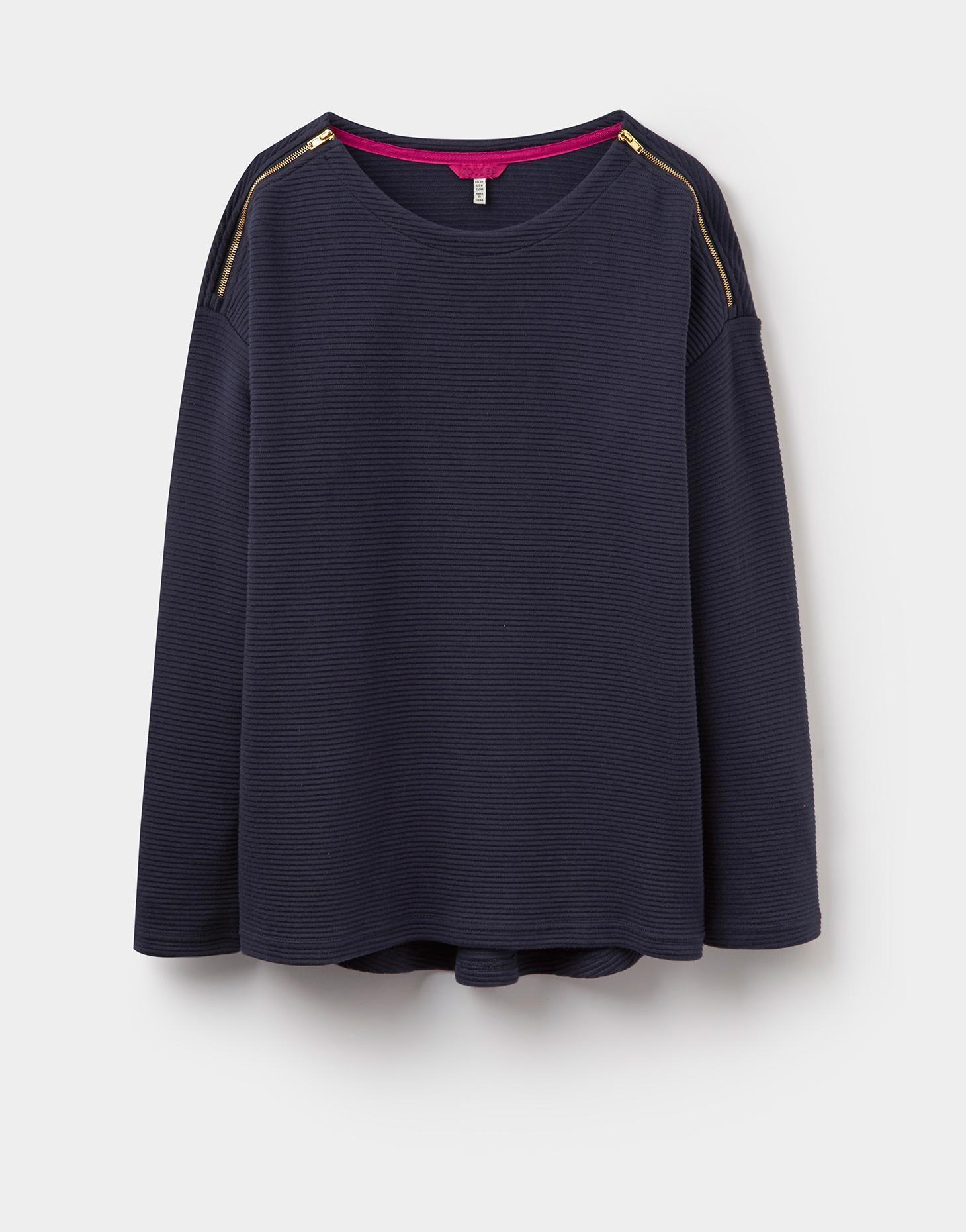 Breeya Textured Sweatshirt | Texture sweatshirt, Long ...