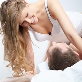 What can a girl do to her boyfriend in bed