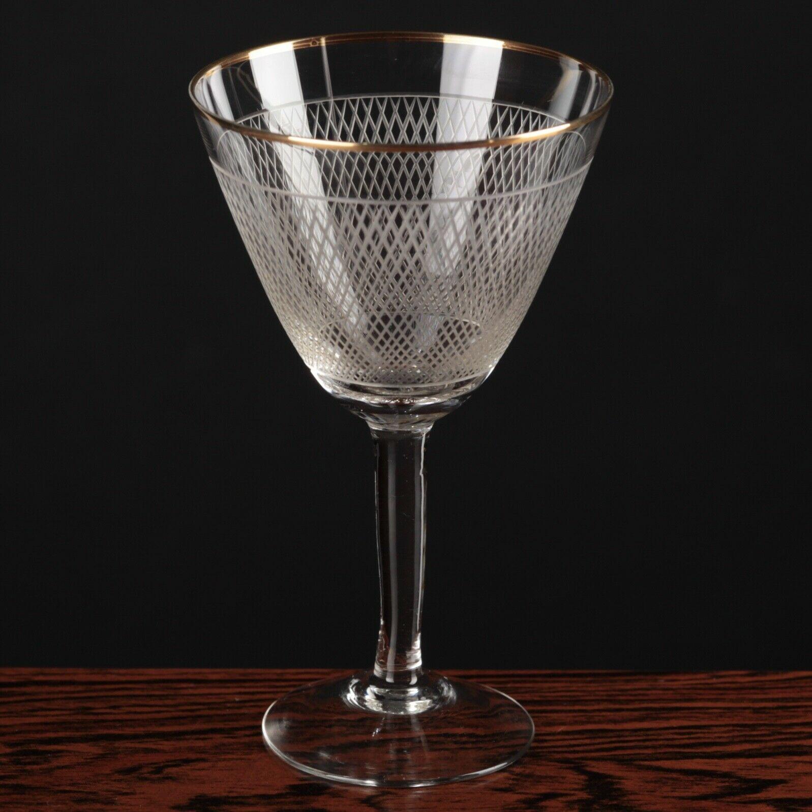 Weißweinglas von Poschinger Frauenau 50iger Jahre