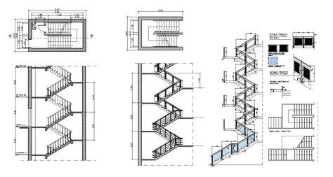 Best Free Rc Stair Details Stair Detail Autocad Stairs Design 400 x 300