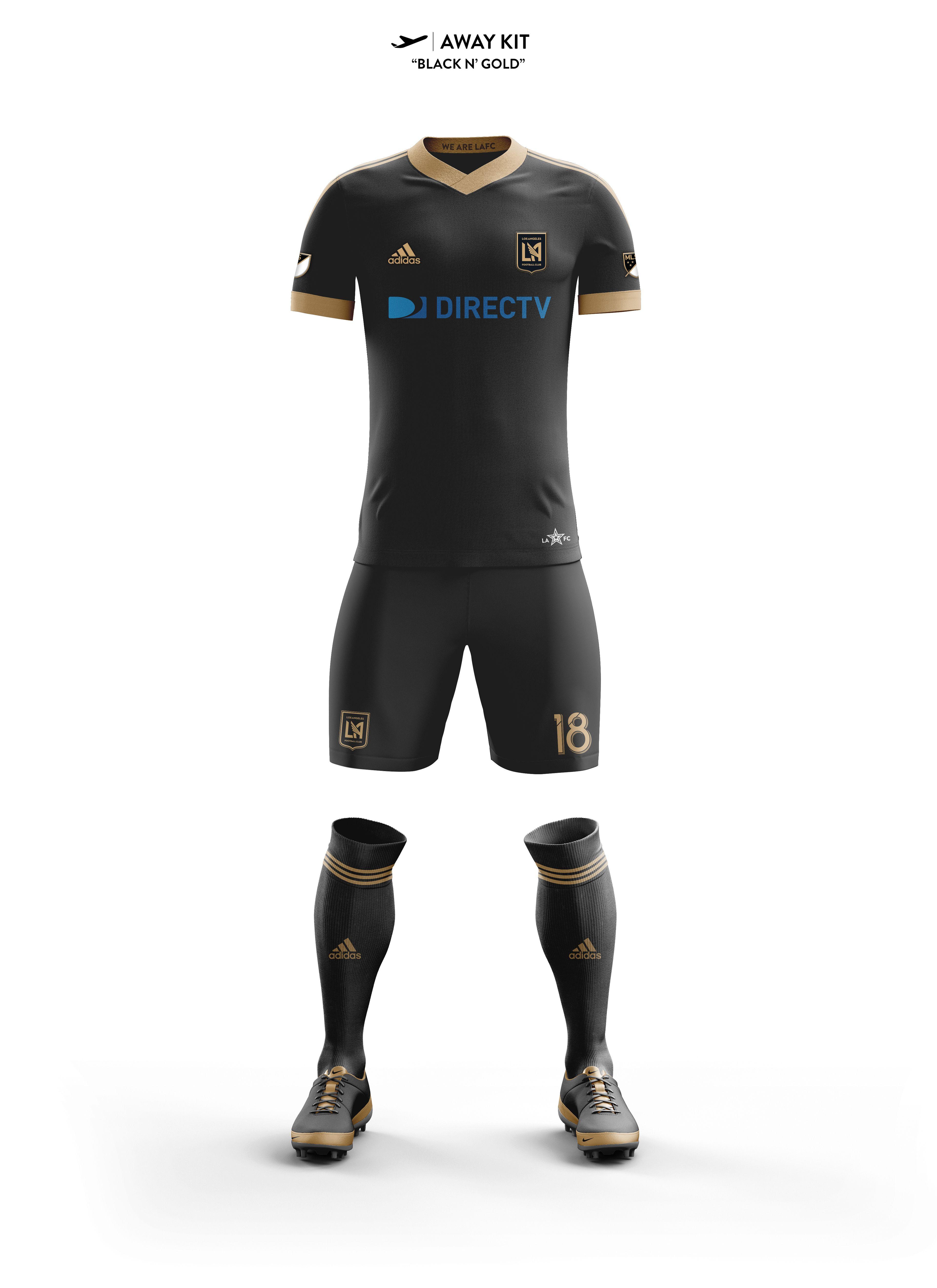 a8db82791e3 Los Angeles Football Club Concept Kits on Behance