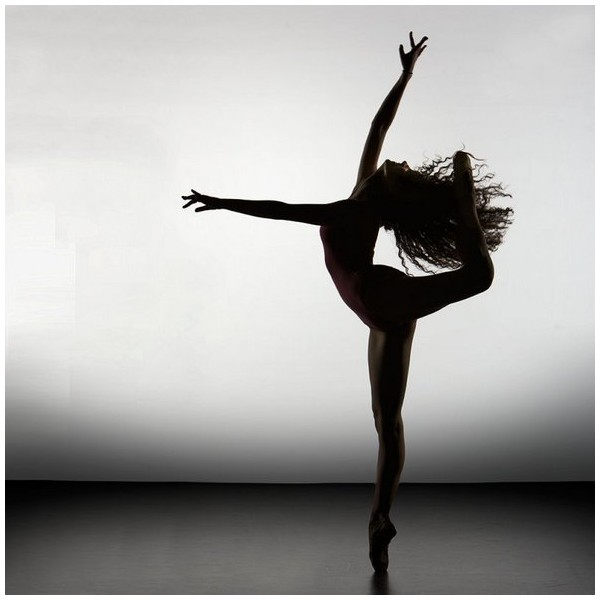Incredible Beautiful Silhouette of Ballet Dancers liked on ... - photo#9