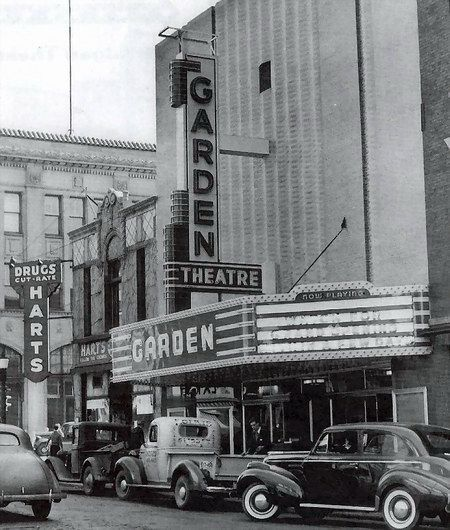Garden Theatre The Corner Of 1st Street And Harrison Street