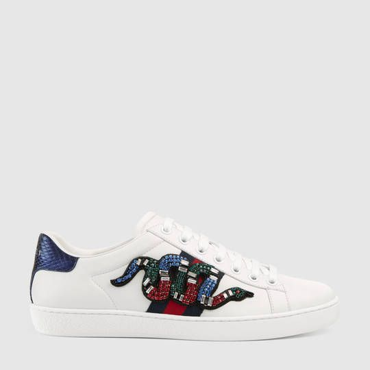 11b0d5841cc Gucci Ace embroidered low-top sneaker