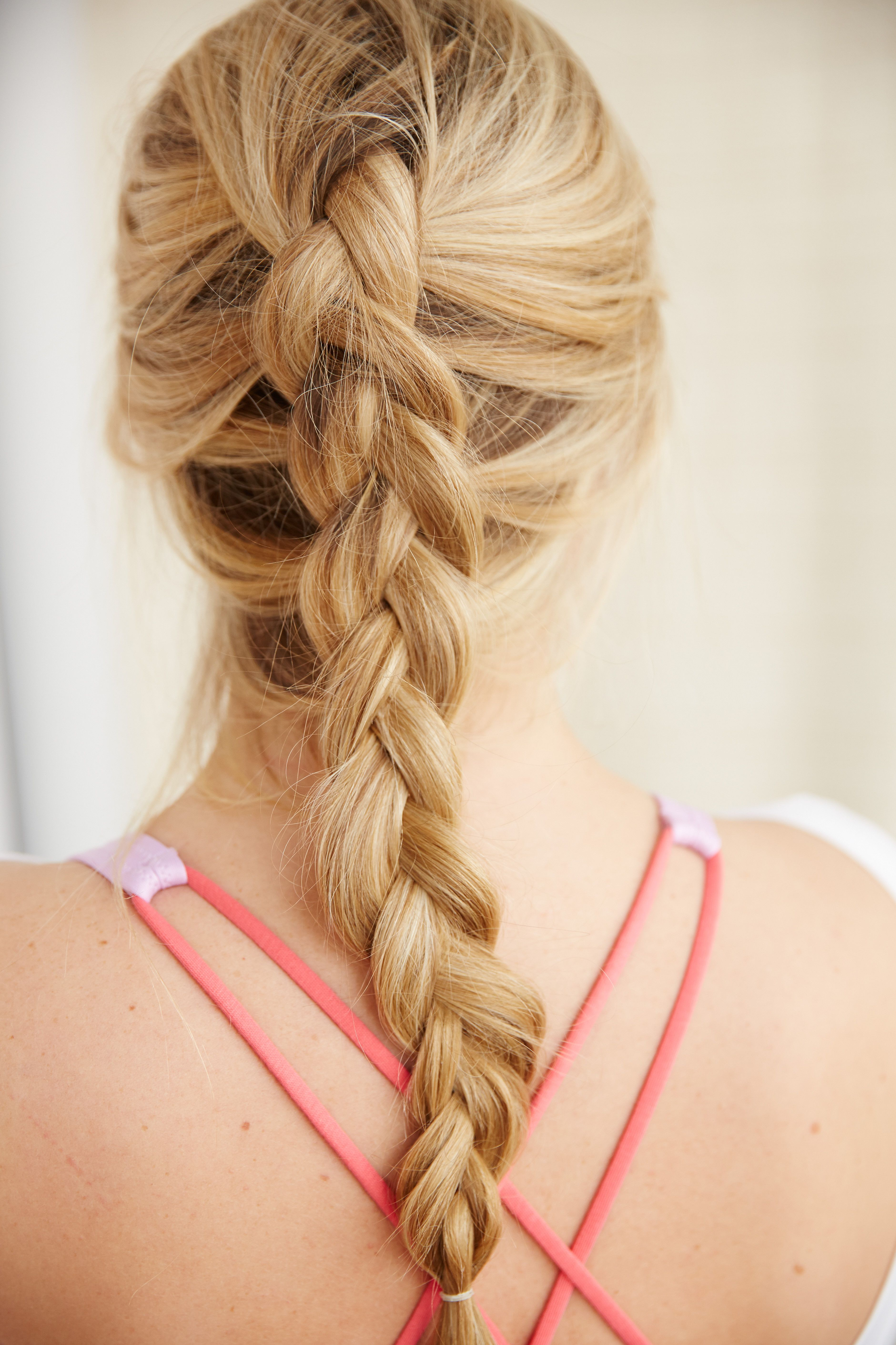 How To Make A Reverse French Braid   Hair  3   Pinterest   Reverse     How To Make A Reverse French Braid