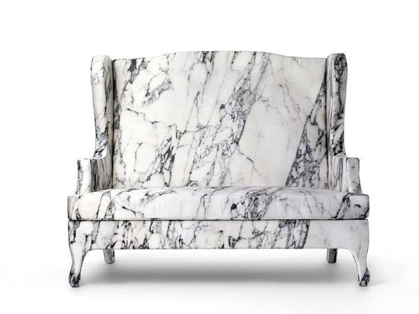 Amazing Deceptively Comfortable Marble Chairs