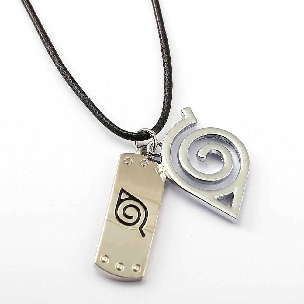 naruto Ninja Leaf Village necklace y