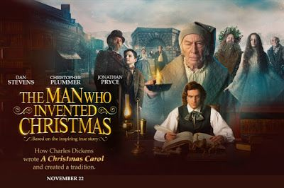 The Man Who Invented Christmas Trailer.The Man Who Invented Christmas Movie Review Trailer Poster