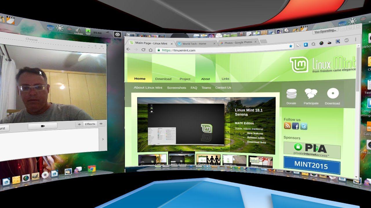 2016 - My Perfect Desktop - Linux Mint 18 1 + Cairo Dock +