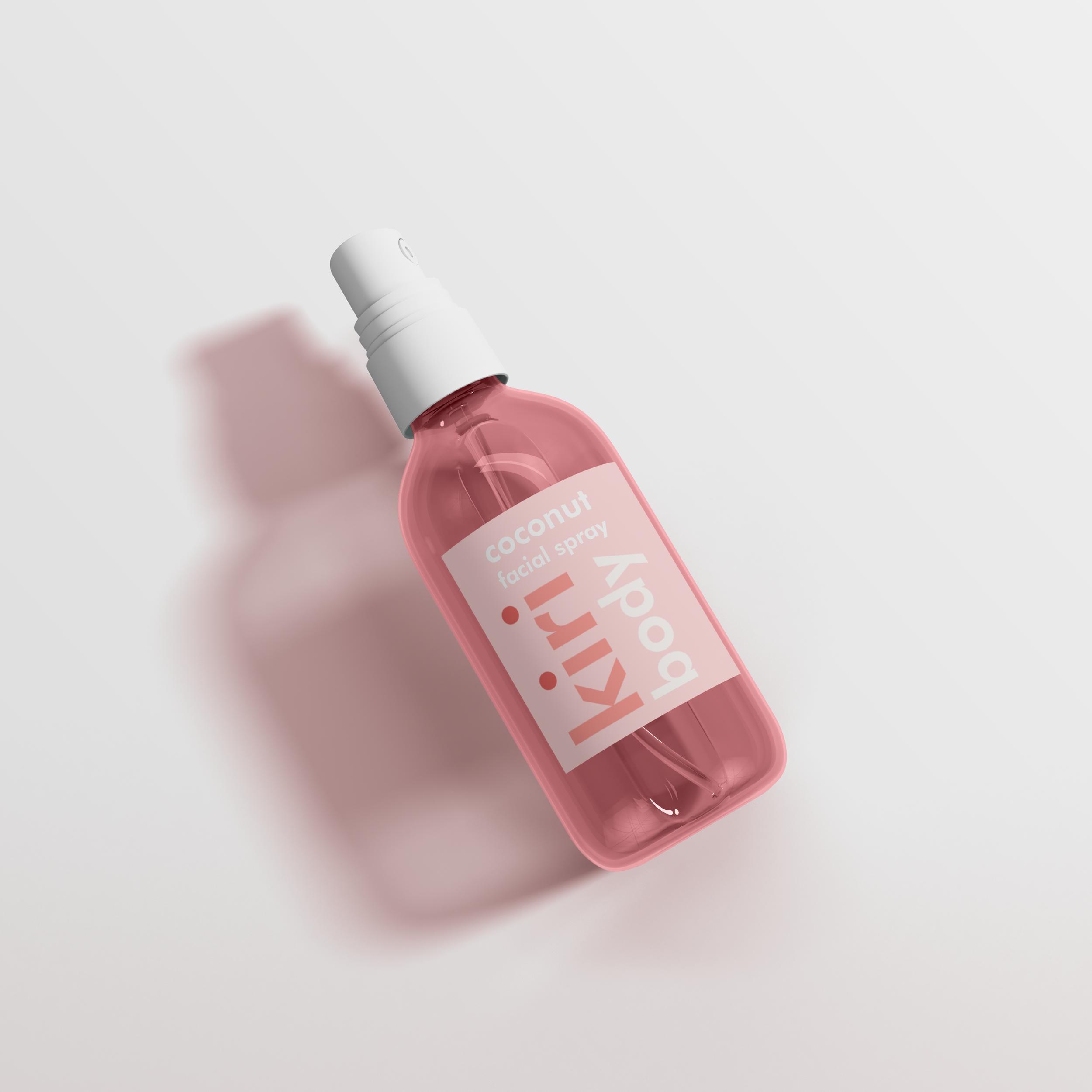Mini Platic Spray Bottle Mockup Png Kemasan Botol Desain Kemasan Kemasan
