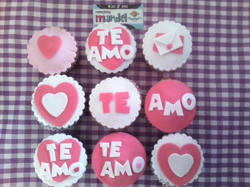 Cupcakes amor
