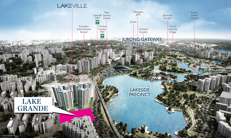 Lake Grande Lake Grande at the up and coming Jurong Lake District Singapore is the latest residential new launch by MCL Land. Lake Grande sits on a 99-year leasehold with approximately 17,803.5 square metres of land and a total of around 600 units intently designed to achieve a line-up of unit selections and suit the dynamic preferences of every household owners. http://lake-grande-singapore.com