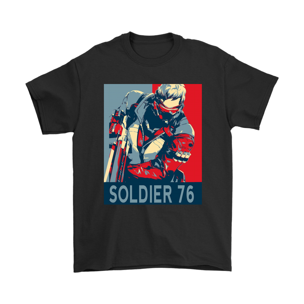 Overwatch Character Soldier 76 Hope Poster Style Shirts » NFL T-Shirts Store