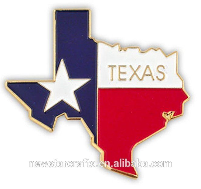 Free Sample Custom Cross American Country Texas Flag State Shaped
