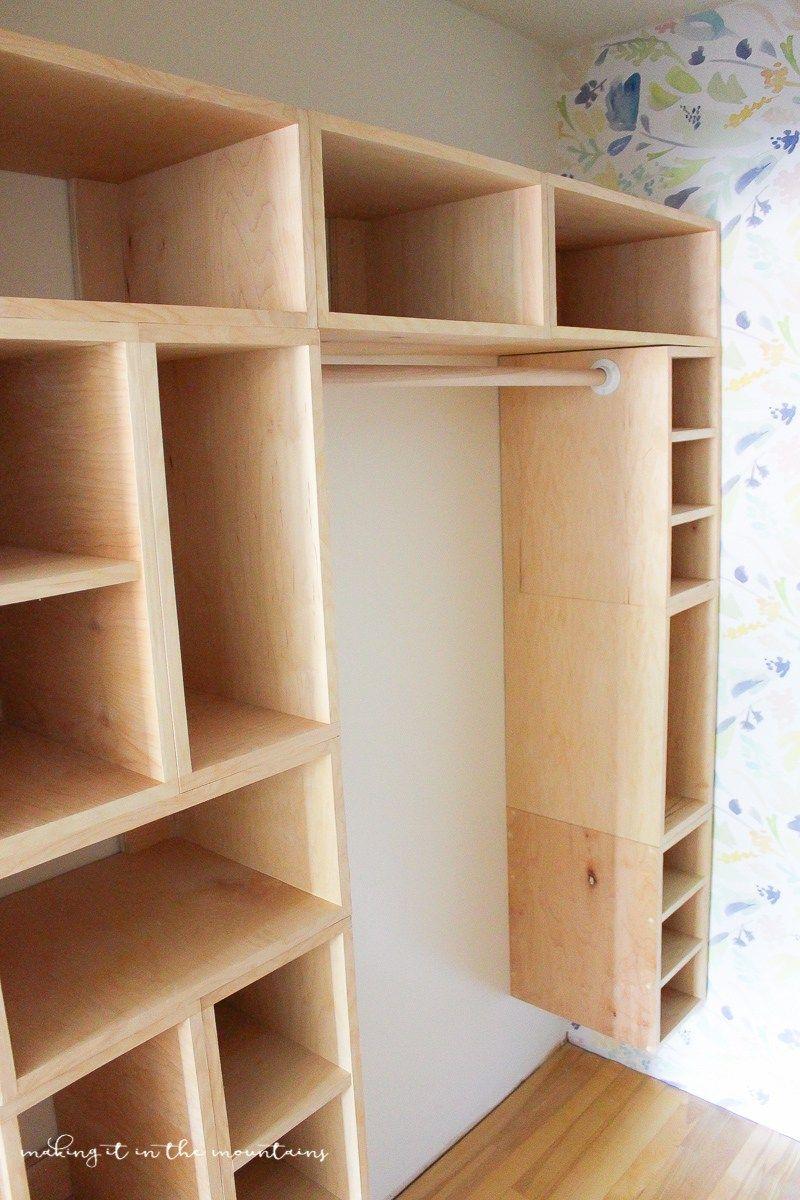 Diy custom closet organizer the brilliant box system