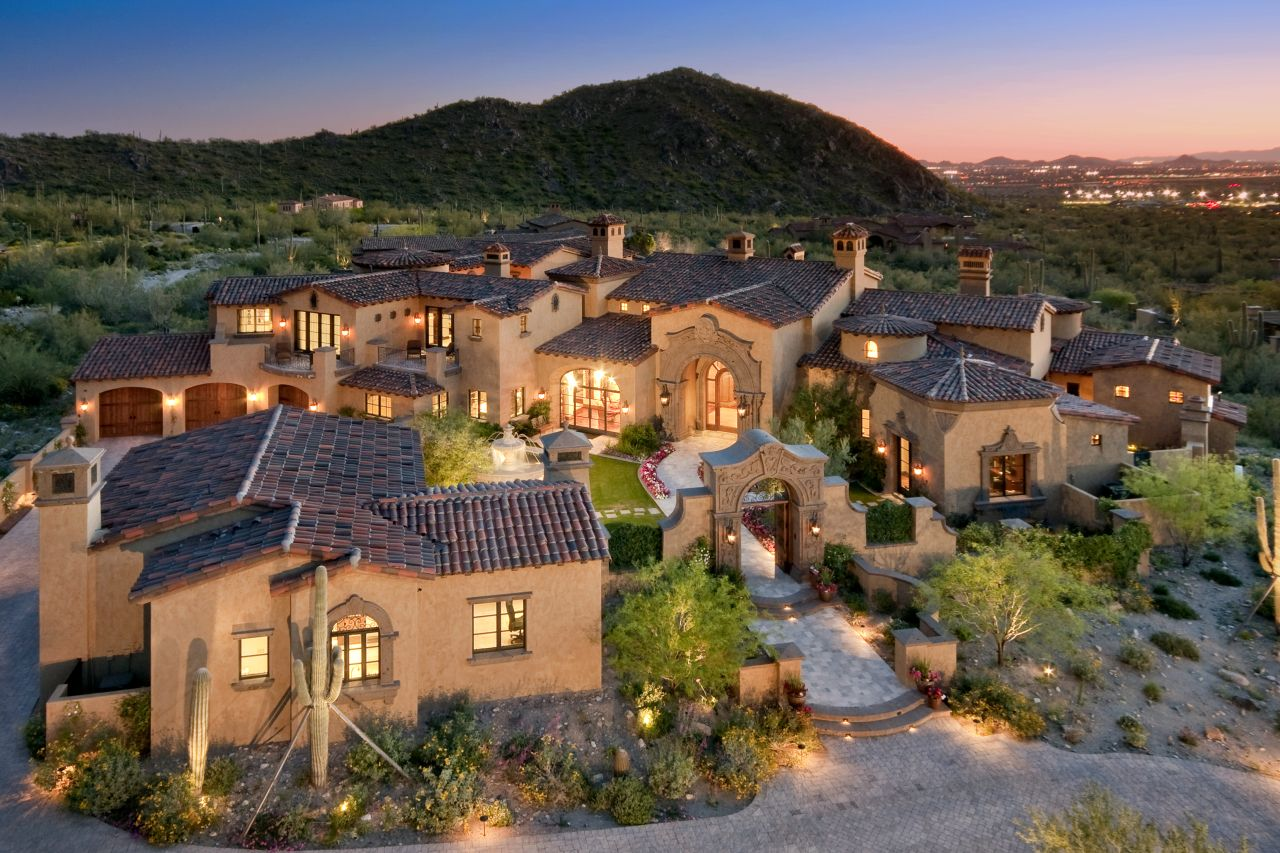 This Whole Site Is AWESOME For When You Feel Like Drooling - Luxury homes in scottsdale az