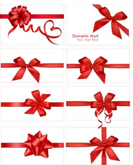 Vector festive gift bow pinterest gift bow web vector festive gift bow negle Image collections