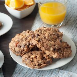 Galactic Breakfast Cookies Jam Packed With Nuts Seeds Oats Spelt And All Kinds Of Other Good Stuff Vegan Breakfast Cookies Vegan Cookies Breakfast
