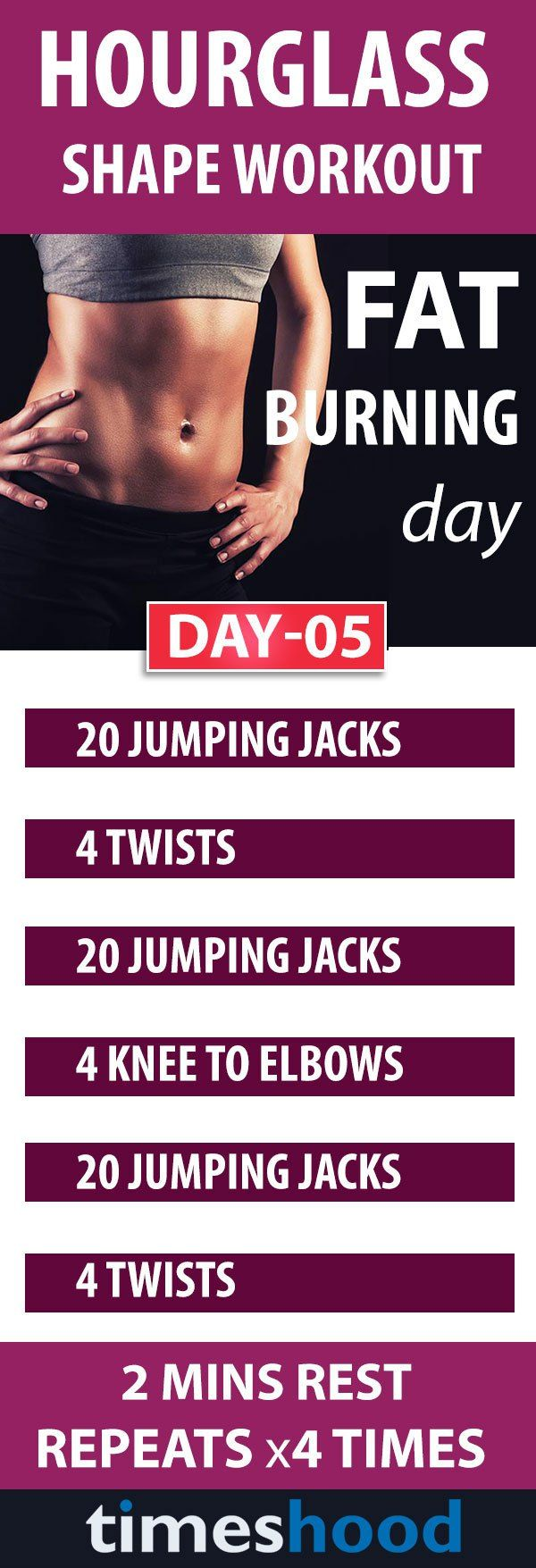 Total Body Workout: 10 Day Workout Plan to Get an Hourglass