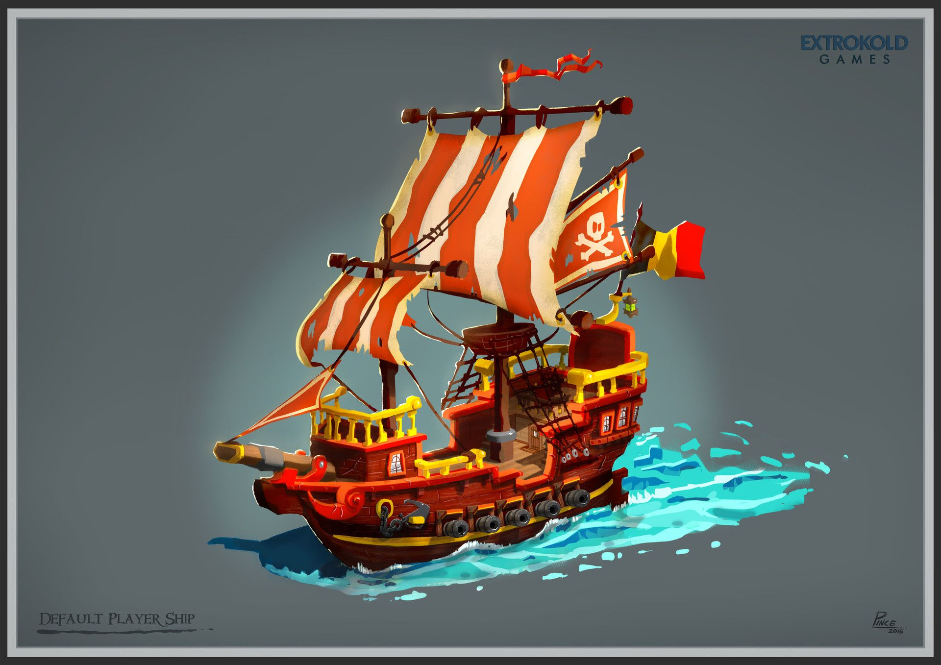Unearned Bounty Pirate Ship Designs Lineup Richard Pince Anime Pirate Concept Art Pirate Ship