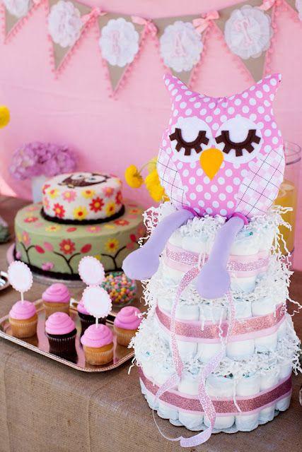 Bn Black Book Of Parties Pink Woodland Owl Baby Shower Pinterest