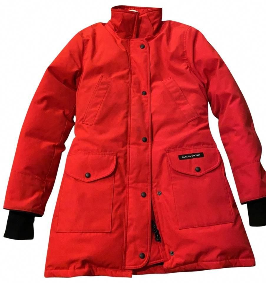 Canada Goose Red 6550l Coat Size 4 S Canada Goose Red