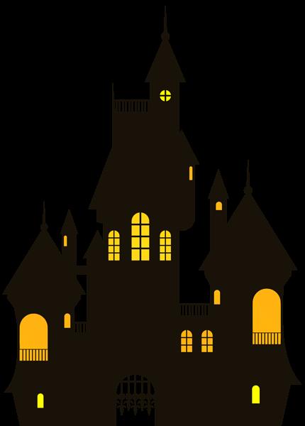 Halloween Castle Png Clip Art Image Halloween Inspiration Halloween Decorations For Kids Halloween Clipart